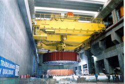 Konecranes provides lifting solutions for all types of power plants. © Konecranes (photo: Industrial News Service)