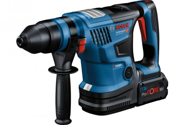 <p><em>Most powerful cordless rotary hammer with SDS plus: New Biturbo hammer from Bosch for professionals</em></p>