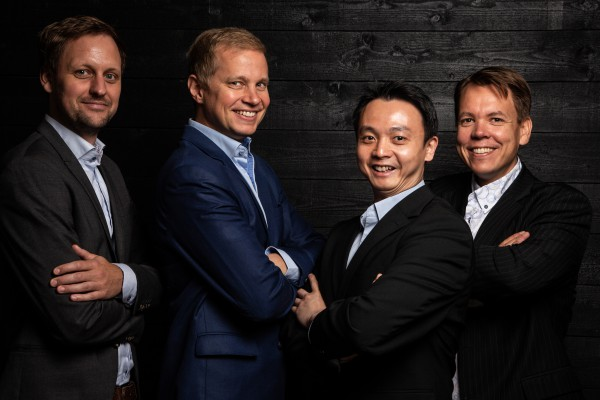 <p><em>Founders: From left to right: Dr. Jan Goetz, CEO, Co-founder of IQM, Prof. Mikko Möttönen, Chief scientist, Co-founder of IQM, Dr. Kuan Yen Tan, CTO, Co-founder of IQM, Dr. Juha Vartiainen, COO, Co-founder of IQM </em></p>