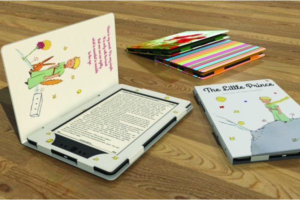 <p>Alpha Design of Bulgaria won for a holder/protective cover for e-book readers. ©Iggesund</p>